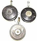 (3) Wolverine Silent Automatic Fly Reels
