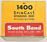 South Bend 1500 Spin Cast Reel