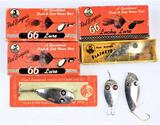 (7) Paul Bunyan Lures and Empty boxes