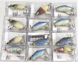 (12) Woods Lures