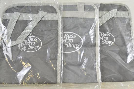 (3) Bass Pro Shops Soft Paks