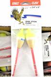 (20) Eagle Claw Asst'd Bobbers - 2 Pk