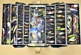 UMCO 1000U Tackle Box with 100 Lures