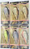(6) Xcalibur Real Craw Series Group 3