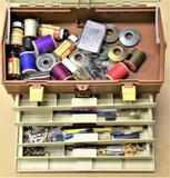 Plano 757 Tackle Box w/Pole Repair Parts