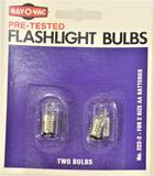 (200) NEW Ray-O-Vac No. 222-2 Bulbs