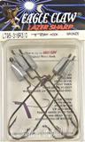 (26) 5 ct pks Eagle Claw LT95-316R3 size 3/0