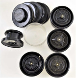 (5) Mitchell Spool containers W/spools