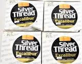 (4) Silver Thread 3000 yd