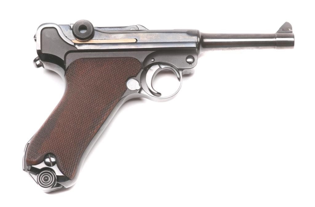 CAI/DWM - P-08 (DWM Mauser Finnish Military) - .30 Luger - Pistol