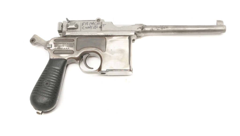 Mauser - 1930 - .30 Luger - Pistol