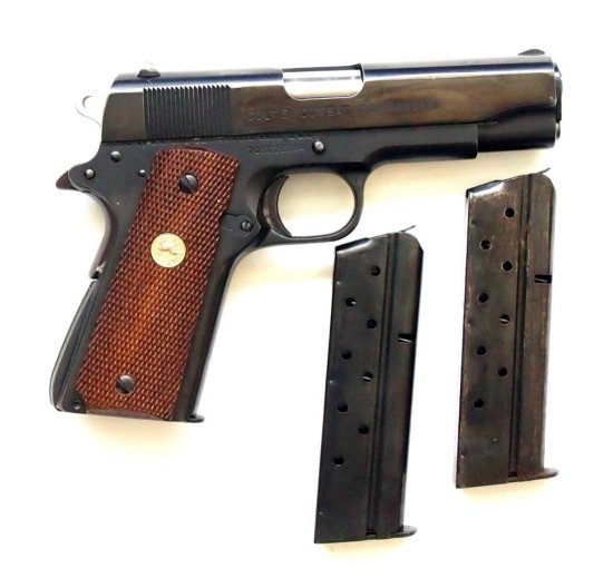 Colt series 70 combat commande 9mm Luger