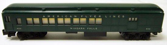 American Flyer Niagara Falls Baggage Coach No. 953