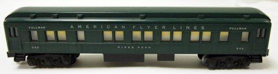 American Flyer Pikes Peak Pullman No. 952