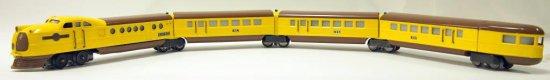 Lionel 4-Piece Passenger Streamline Set - Prewar