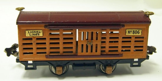 Lionel Cattle Car No. 806 - Prewar