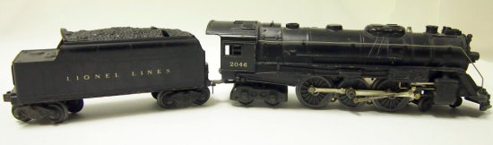 Lionel Postwar Era Locomotive and Tender