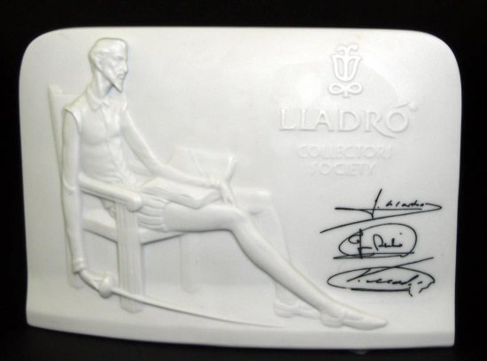 Lladro Sales Plaque
