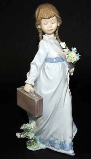 Lladro School Girl