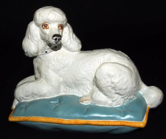 Royal Doulton Reclining Poodle