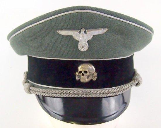 Waffen SS General Visor Hat