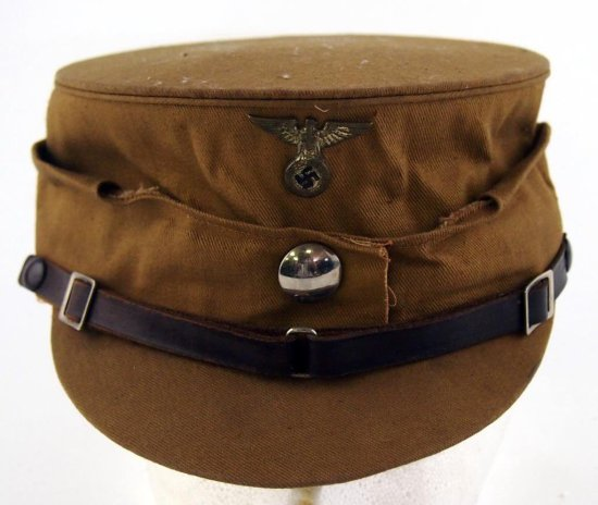 "SA ""Coffee Can"" Cap - Brown Kepi"