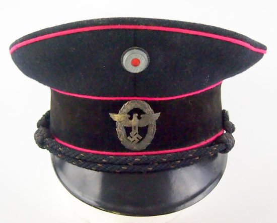 German Forestry Officer's Army Visored Cap