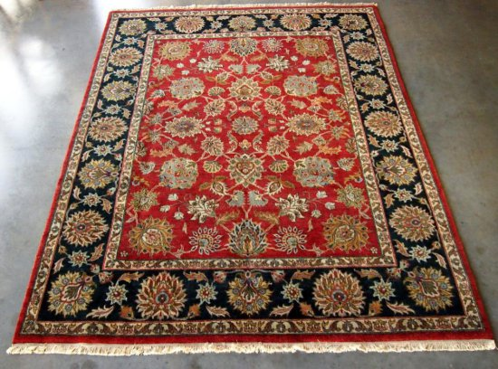 Jaipur, OD-13 Red/Black Rug
