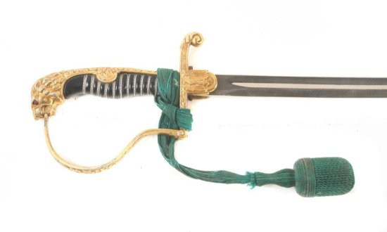 Army Officer's Lion Head Sword by Puma