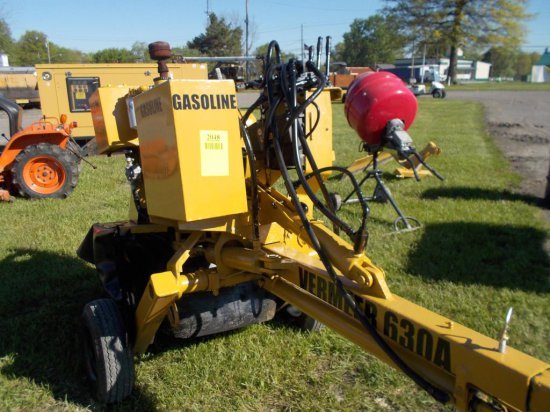 VERMEER 630A STUMP GRINDER 4 CYL WISCONSIN GAS ENG Make Model 630