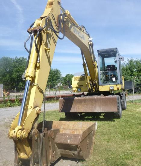 NEW HOLLAND /VOLVO EW160 RUBBE    Auctions Online | Proxibid