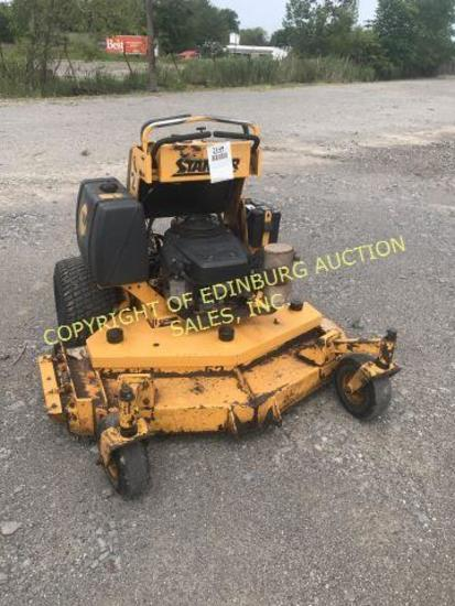 "'03 WRIGHT WS-5219 52"" STANDING MOWER RUNS/MOVES/WORKS. HYDRAULIC DRIVEN. 3"
