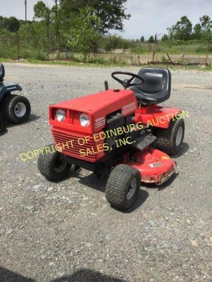RED GRAVELY 1238-H CONDITION UNKNOWN SER.#: 00049142 ***KEY IS IN OFFICE