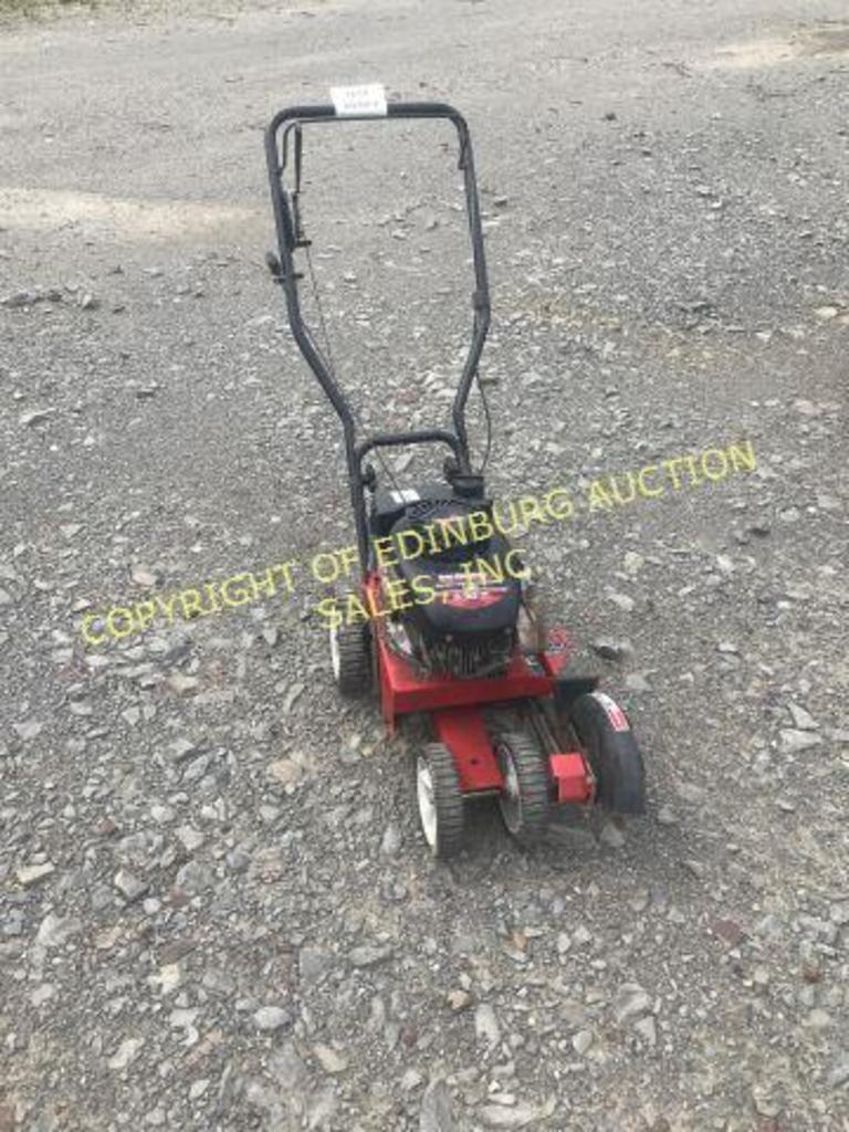 YARD MACHINES 3.5 HP EDGER (RUNS)