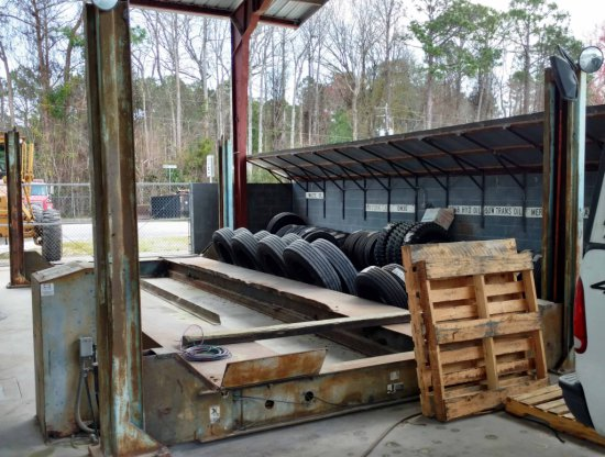 Rotary SM500 Heavy Vehicle Lift, Mechanics Automotive Repair