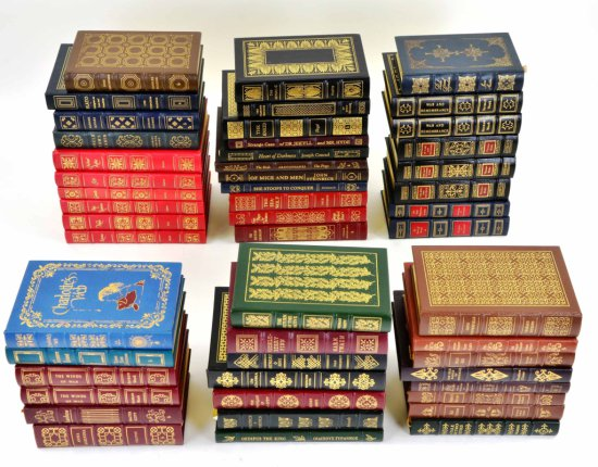 Collection of 51 Easton Press Books