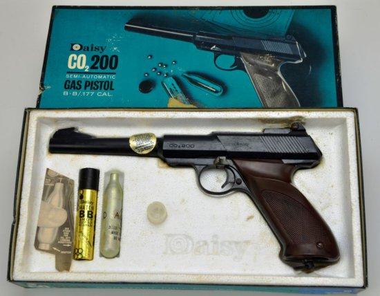 Vintage Daisy CO2/200 Semi-Automatic Gas Pistol BB / .177 Caliber Pistol