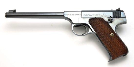 """Original Vintage Colt Woodsman Target Pistol 6.5"""" Barrel in .22 LR Caliber, Like New"""