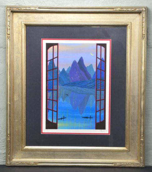 Fanch, Limited Edition Serigraph, Signed