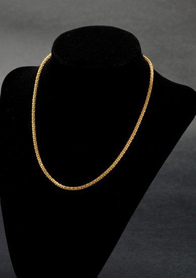 ITEM 94: Y.GOLD, MULTI-DIAMOND CUT LINK NECKLACE