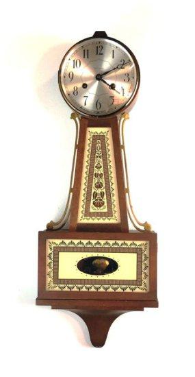 Seth Thomas 8 Day Brookfield Banjo Clock