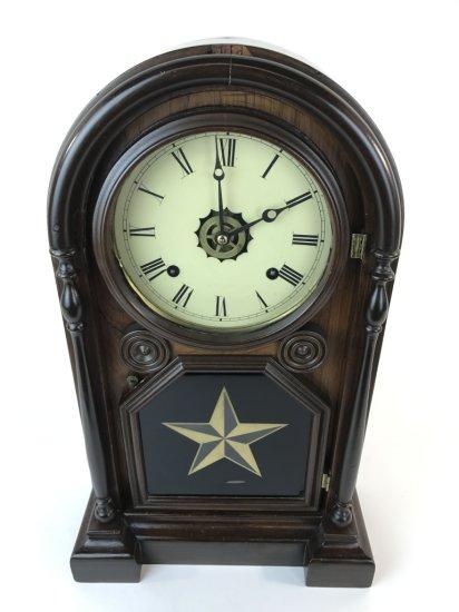 Starburst 8 Day Mantle Clock