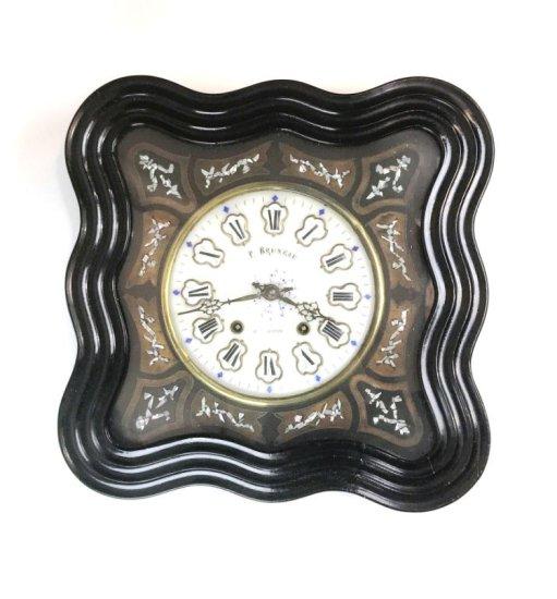 F. Bruneau Wall Mounted Clock