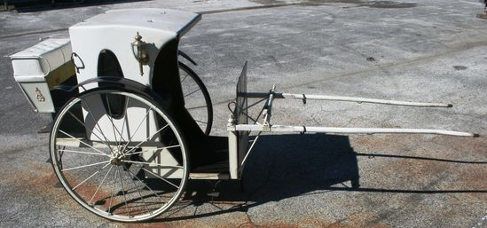 Vintage Hansom Cab Horse Drawn Carriage from St. Augustine