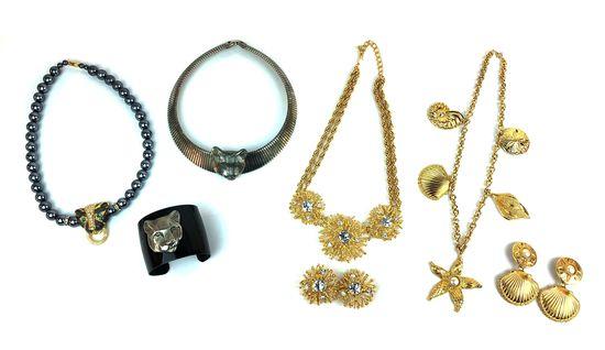 Lot of Vintage KJL Designer Kenneth Jay Lane Costume Jewelry
