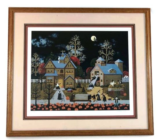 """Wooster Scott, Listed Artist Signed Lithograph, #231/795 """"Goblins on a Rampage"""""""