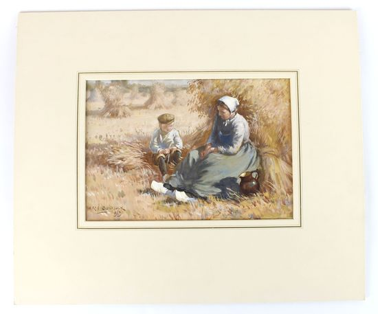Original Watercolor Painting by listed artist William Kay Blacklock
