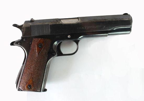 Colt 1911 Pre War 38 Super Pistol
