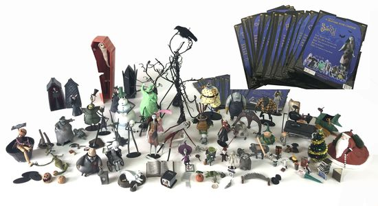 Touchstone Pictures NECA Tim Burton's The Nightmare Before Christmas Figures Collection