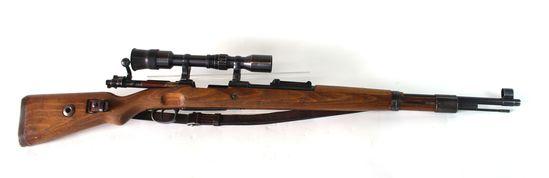 Mauser 98 BNZ 8x57 with Scope & Claw Mounts